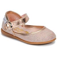 Παπούτσια Κορίτσι Μπαλαρίνες Citrouille et Compagnie JARITO Ροζ / Bronze