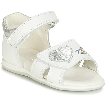 Παπούτσια Κορίτσι Σανδάλια / Πέδιλα Citrouille et Compagnie JAFALGA Άσπρο