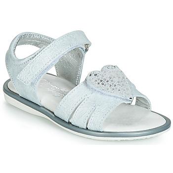 Παπούτσια Κορίτσι Σανδάλια / Πέδιλα Citrouille et Compagnie JAFILOUTE Grey