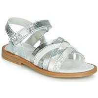 Παπούτσια Κορίτσι Σανδάλια / Πέδιλα Citrouille et Compagnie JIRAFOU Silver