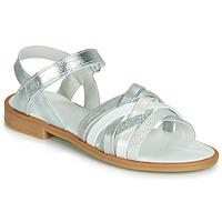 Παπούτσια Κορίτσι Σανδάλια / Πέδιλα Citrouille et Compagnie JARILOU Silver