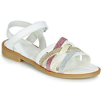 Παπούτσια Κορίτσι Σανδάλια / Πέδιλα Citrouille et Compagnie JARILOU Άσπρο