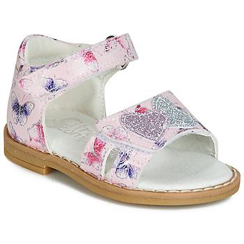 Παπούτσια Κορίτσι Σανδάλια / Πέδιλα Citrouille et Compagnie JARILOUTE Ροζ