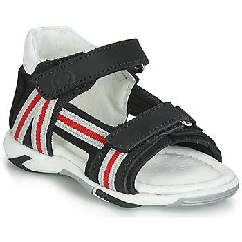 Παπούτσια Αγόρι Σανδάλια / Πέδιλα Citrouille et Compagnie JATILETTE Black
