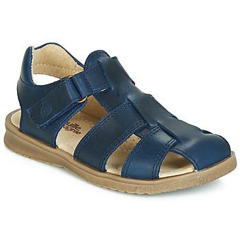 Παπούτσια Αγόρι Σανδάλια / Πέδιλα Citrouille et Compagnie JALIDOU Μπλέ / Fonce
