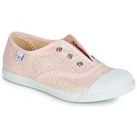 Παπούτσια Κορίτσι Χαμηλά Sneakers Citrouille et Compagnie RIVIALELLE Ροζ / Μεταλικό