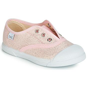 Παπούτσια Κορίτσι Χαμηλά Sneakers Citrouille et Compagnie JANOLIRE Ροζ / Μεταλικό