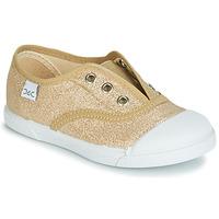 Παπούτσια Κορίτσι Χαμηλά Sneakers Citrouille et Compagnie JANOLIRE Gold