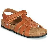 Παπούτσια Αγόρι Σανδάλια / Πέδιλα Citrouille et Compagnie JANISOLERE Brown