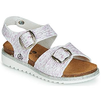 Παπούτσια Κορίτσι Σανδάλια / Πέδιλα Citrouille et Compagnie JANETTA Άσπρο / Violet