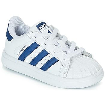 new products 86892 0a8c4 Παπούτσια Παιδί Χαμηλά Sneakers adidas Originals SUPERSTAR EL Άσπρο  Μπλέ