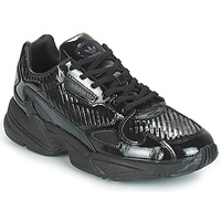 Παπούτσια Γυναίκα Χαμηλά Sneakers adidas Originals FALCON W Black / Glitter