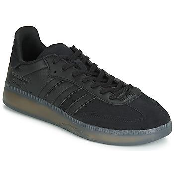 Παπούτσια Άνδρας Χαμηλά Sneakers adidas Originals SAMBA RM Black