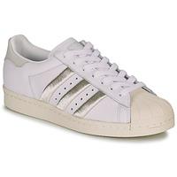 Παπούτσια Γυναίκα Χαμηλά Sneakers adidas Originals SUPERSTAR 80s W Άσπρο / Beige