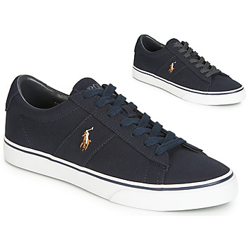 643600b19f Παπούτσια Άνδρας Χαμηλά Sneakers Polo Ralph Lauren SAYER Marine