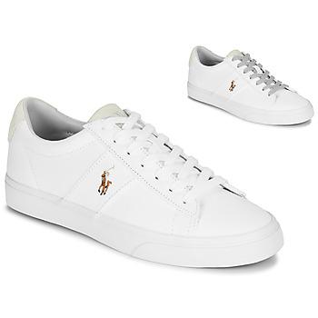 Παπούτσια Άνδρας Χαμηλά Sneakers Polo Ralph Lauren SAYER Άσπρο