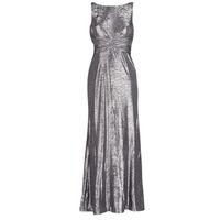 Υφασμάτινα Γυναίκα Μακριά Φορέματα Lauren Ralph Lauren SLEEVELESS EVENING DRESS GUNMETAL Grey / Silver