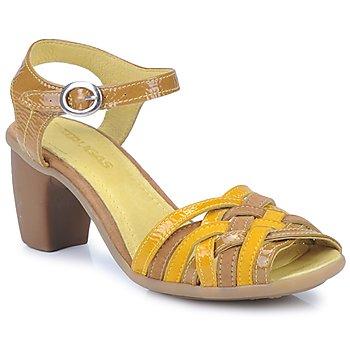 Παπούτσια Γυναίκα Σανδάλια / Πέδιλα Pataugas FANNY Yellow
