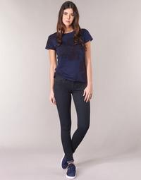 Υφασμάτινα Γυναίκα Skinny jeans G-Star Raw LYNN D-MID SUPER SKINNY Μπλέ   e5276f64671