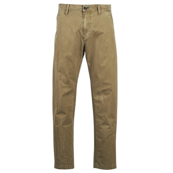 Υφασμάτινα Άνδρας Παντελόνια Chino/Carrot G-Star Raw BRONSON STRAIGHT TAPERED CHINO Beige