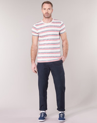 Υφασμάτινα Άνδρας Παντελόνια Chino/Carrot G-Star Raw BRONSON STRAIGHT TAPERED CHINO Marine