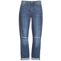 Υφασμάτινα Γυναίκα Boyfriend jeans G-Star Raw 3302 SADDLE MID BOYFRIEND Μπλέ / Medium / Aged / Ripped