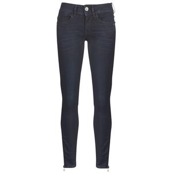 Υφασμάτινα Γυναίκα Skinny jeans G-Star Raw LYNN ZIP MID SKINNY ANKLE Μπλέ / Dark / Aged / Cobler