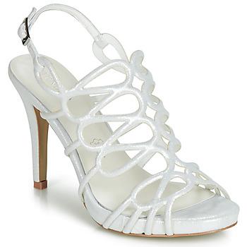 Παπούτσια Γυναίκα Σανδάλια / Πέδιλα Menbur CLEMENTINA Ivory
