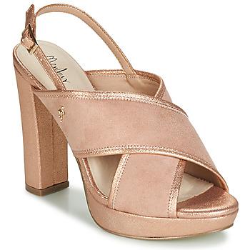 Παπούτσια Γυναίκα Σανδάλια / Πέδιλα Menbur VILLALBA Ροζ / Χρυσο