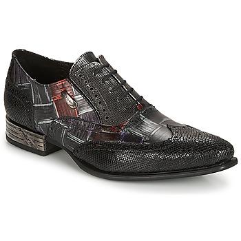 Παπούτσια Άνδρας Richelieu New Rock SALSO Black