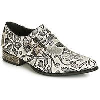 Παπούτσια Άνδρας Richelieu New Rock SALSO Black / Άσπρο