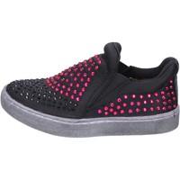 Παπούτσια Κορίτσι Slip on Lulu BT332 Μαύρος