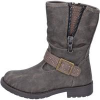 Παπούτσια Κορίτσι Μποτίνια Manairons BT347 Γκρί