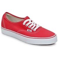 Παπούτσια Χαμηλά Sneakers Vans AUTHENTIC Red
