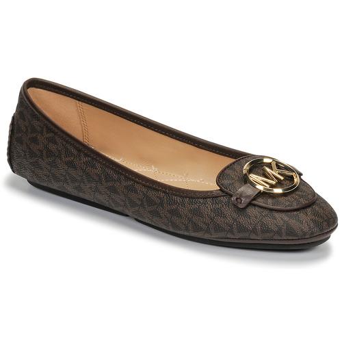 Παπούτσια Γυναίκα Μπαλαρίνες MICHAEL Michael Kors LILLIE MOC Brown