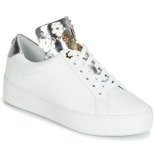 Παπούτσια Γυναίκα Χαμηλά Sneakers MICHAEL Michael Kors MINDY Άσπρο