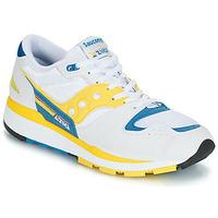 Παπούτσια Άνδρας Χαμηλά Sneakers Saucony Azura Άσπρο / Yellow / Μπλέ