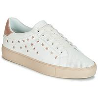 Παπούτσια Γυναίκα Χαμηλά Sneakers Esprit Colette Star LU Άσπρο / Ροζ / Χρυσο