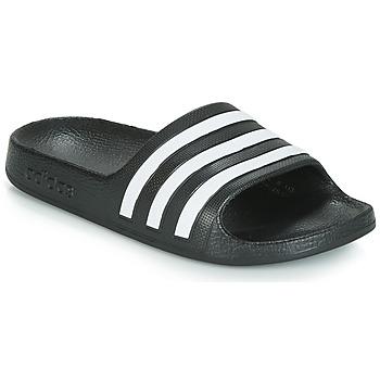 Παπούτσια Παιδί σαγιονάρες adidas Performance ADILETTE AQUA K Black / Άσπρο