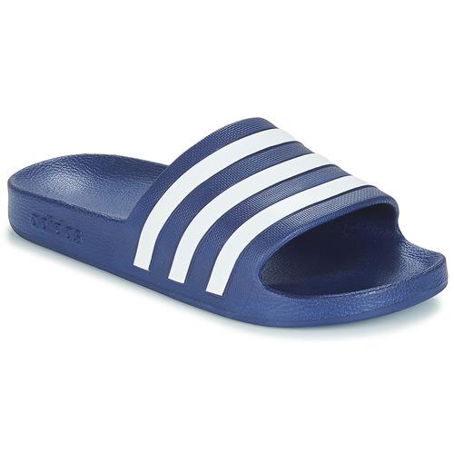 Παπούτσια σαγιονάρες adidas Performance ADILETTE AQUA Μπλέ