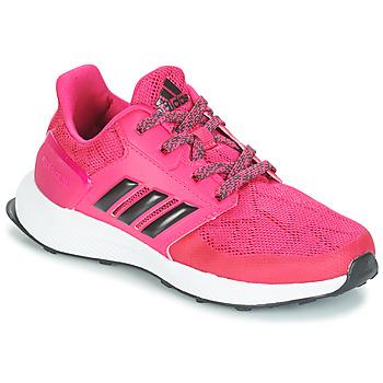 Παπούτσια Κορίτσι Τρέξιμο adidas Originals RAPIDARUN K Ροζ