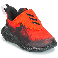 Παπούτσια Αγόρι Τρέξιμο adidas Performance FORTARUN SPIDER-MAN Red / Black