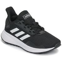 Παπούτσια Παιδί Τρέξιμο adidas Performance DURAMO 9 K Black / Άσπρο