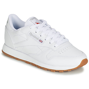 Παπούτσια Γυναίκα Χαμηλά Sneakers Reebok Classic CL LTHR Άσπρο