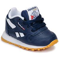 Παπούτσια Αγόρι Χαμηλά Sneakers Reebok Classic CLASSIC LEATHER Μπλέ / Άσπρο