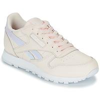 Παπούτσια Κορίτσι Χαμηλά Sneakers Reebok Classic CLASSIC LEATHER Ροζ