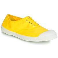 Παπούτσια Γυναίκα Χαμηλά Sneakers Bensimon TENNIS LACETS Citron