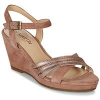 Παπούτσια Γυναίκα Σανδάλια / Πέδιλα JB Martin QUOLIDAYS Camel