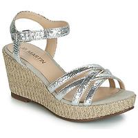 Παπούτσια Γυναίκα Σανδάλια / Πέδιλα JB Martin DAME Silver