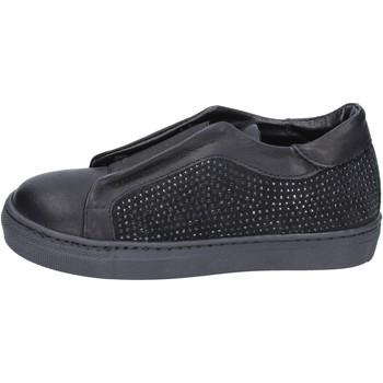 Παπούτσια Κορίτσι Slip on Holalà BT374 Μαύρος